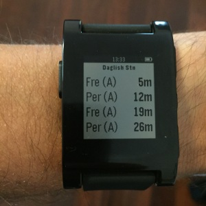 Pebble Running